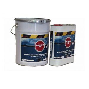 Arcane industries Peinture polyuréthane antidérapante sol - kit de 5 kg - GRIS 4 RAL 7047