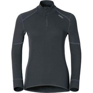 Odlo T-Shirt ML 1/2 zip X-WARM T-shirt manches longues femme Femme black FR: XL (Taille Fabricant: XL)