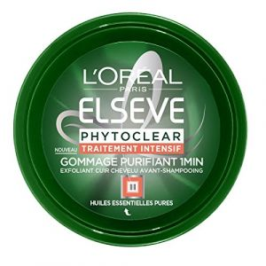L'Oréal Elsève Phytoclear Masque Gommage Purifiant 1 Minute Avant-Shampooing 150 ml