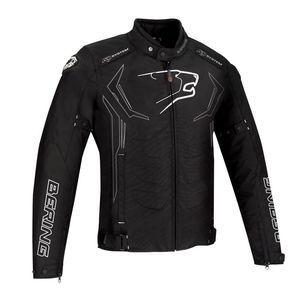 Bering Blouson textile Guardian noir/blanc/rouge - S