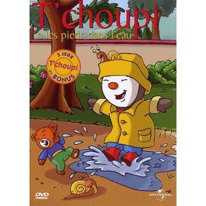 T'choupi : T'choupi a les pieds dans l'eau