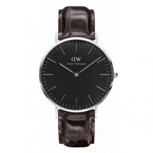 Daniel Wellington DW00100134 - Montre pour homme avec bracelet en cuir