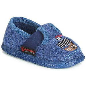 Giesswein Chaussons enfant THALE Bleu - Taille 23,24,25,26