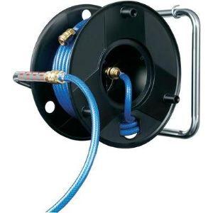 Brennenstuhl 1127010 - Enrouleur Anti Twist 20 m pour tuyau à air comprimé 6/12 mm