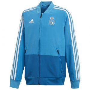 Adidas Veste Présentation Real Madrid Bleu Junior