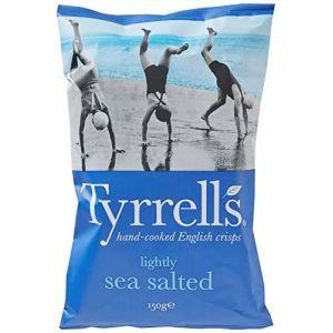 Tyrrell's Chips Légèrement Salées au Sel de Mer 150 g