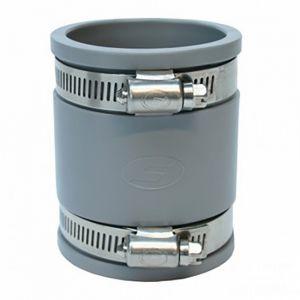 GIRPI Manchon métal/PVC à compression en PVC Femelle/Femelle D40