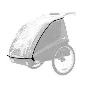 Thule Habillage pluie pour Coaster 2 places - transparent Accessoires remorque