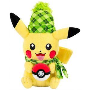 Wtt Peluche Pokémon Pikachu Hiver