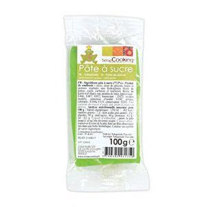 Scrapcooking Pâte à sucre Vert Prairie (100g)