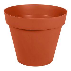 Eda Plastiques Pot gamme Toscane orange Ø 80 cm
