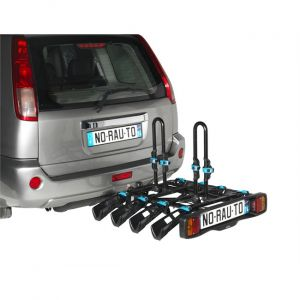 Norauto Porte-vélos d'attelage plate-forme Rapidbike 4P pour 4 vélos