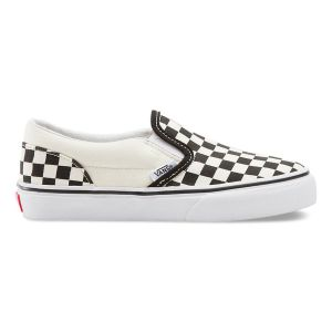 Vans Classic Slip-on, Sneakers Basses Mixte Enfant, Blanc