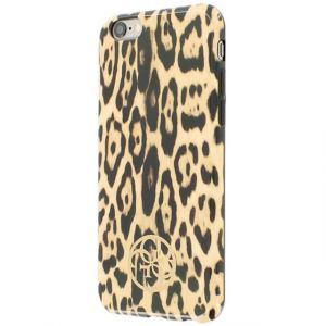 Guess Coque Luxe Tpu collection Animalier Print motif Leopard iPhone 6s 4.7