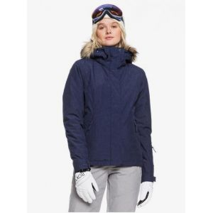 Roxy Jet Ski Solid Veste Femme, medieval blue M Vestes sports d'hiver