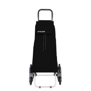 Rolser Chariot à courses 6 roues Saquet LN Convert Noir
