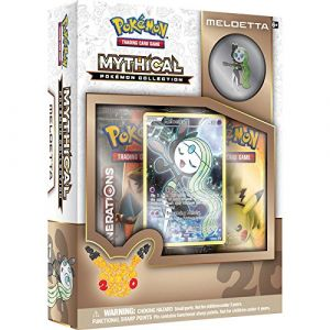 Asmodée Coffret Mythical Pokémon Collection Meloetta