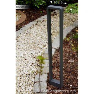 Trio 420760142 - Borne extérieure LED Reno gris anthracite aluminium