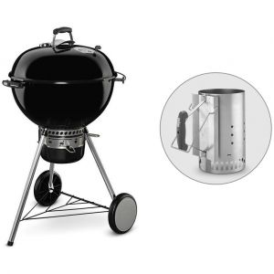 Weber Master Touch GBS 57 cm - Barbecue à charbon + Cheminée d'allumage