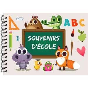Panodia Album Scolaire Souvenir d'Ecole ABC 31x23 cm 50 Pages