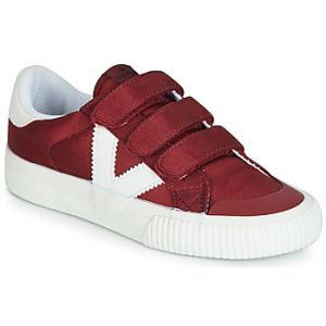 Victoria Baskets basses enfant TRIBU VELCROS NYLON rouge - Taille 22,23,24,25,26,27,29,30,31,33,34