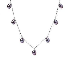 Blue Pearls Bps 0203 Y - Collier 7 perles de culture pour femme