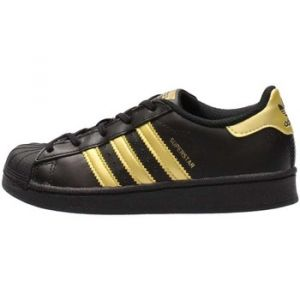 Adidas Superstar C, Chaussures de Fitness Mixte Enfant, Noir (Negbas/Dormet/Dormet), 28 EU