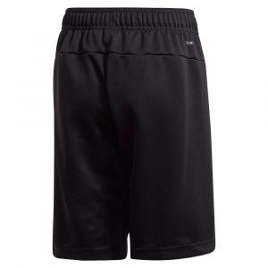 Adidas Pantalons Training Knit Linear - Black / White - Taille 164