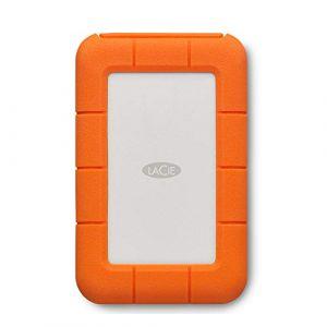 Lacie STFS1000401 - SSD Rugged Thunderbolt 1 To externe USB 3.1 Gen 2 / Thunderbolt 3