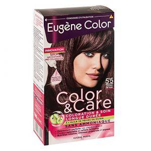 Eugène Color Color & Care - Coloration n°5.5 Châtain Clair Acajou