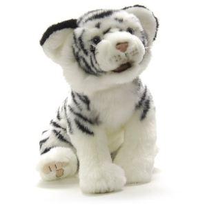 Anima Peluche Ushuaïa - Tigre blanc 35 cm