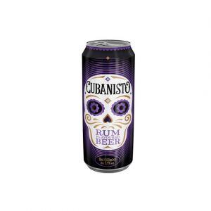 Cubanisto Bière aromatisée au rhum - La boîte de 50cl