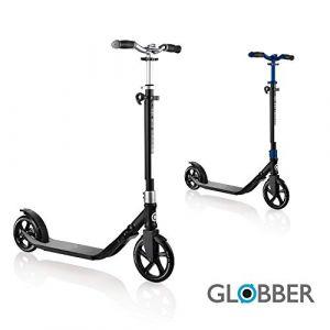Globber Trottinette enfant 2 roues ONE NL 205-180 DUO pliable, gris