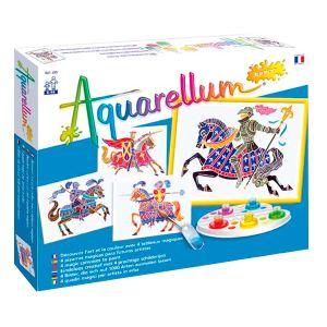 Sentosphère Aquarellum junior : Chevaliers