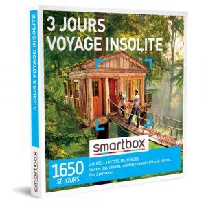 Smartbox Coffret cadeau 3 jours voyage insolite