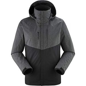 Lafuma Access 3In1 Fleece JKT M Veste 3 en 1 Homme, Anthracite Grey, FR : 2XL (Taille Fabricant : XXL)