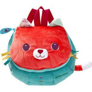 Lilliputiens Sac à dos doux Colette le chat