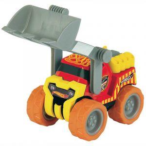 Klein Véhicule de chantier Hot Wheels - Beach Fun : Camion Bulldozer