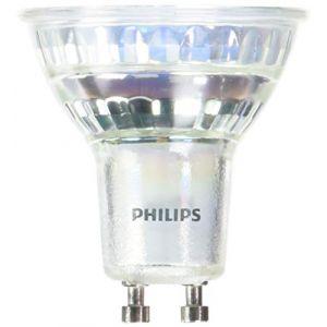 Philips Ampoule LED GU10 Spot / 4,6W (50W) - 370 lumen argent en matière plastique
