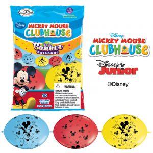 Bannière de 10 ballons Mickey