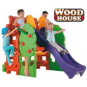 Feber Wood House - Station de jeux