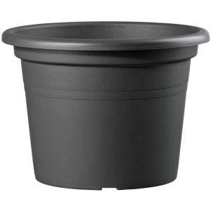 Deroma Pot plastique Diam.60 x H.42 cm anthracite
