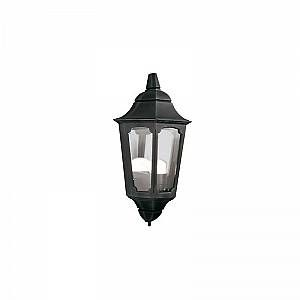Elstead Applique Murale demi lanterne Parish 1x100W - Noir - LIGHTING - pr7
