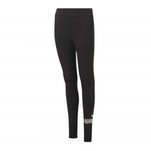 Puma Legging - Ess+ logo legging girl - Noir Femme 14ANS