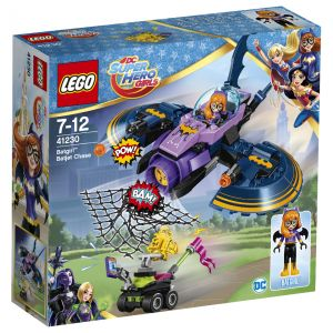 Lego 41230 - DC Super Hero Girls : La poursuite en Batjet de Batgirl