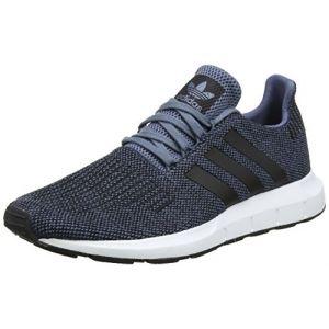 Adidas Swift Run Homme, Bleu (Acenat/Negbás / Ftwbla 000), 42 EU