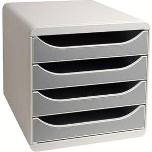 Multifiche Module de classement Big-Box 4 tiroirs