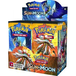 Asmodée Pokemon EX Sun & Moon Box 36 Booster