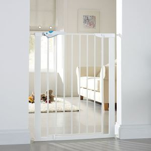 Lindam Easy Fit Plus Deluxe - Barrière de sécurité (75-82 cm)