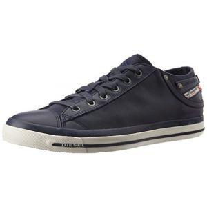 Diesel Magnete Exposure Low I-Sneaker, Sneakers Basses Homme, Bleu (T6065-Blue Nights Pr052), 41 EU